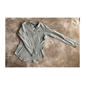 Arc'teryx Thermal knit snap button top